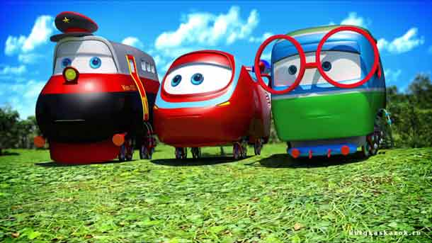 Кадры из фильма паровозик тишка смотрєть онлайн мультик подряд серии