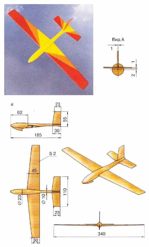 Модель планера