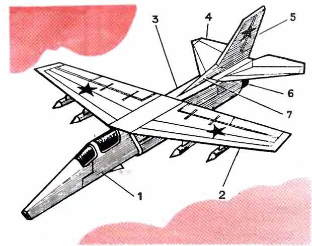 Сокол, модель самолёта
