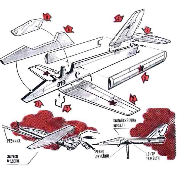 «АЛЬБАТРОС», летающая модель самолёта