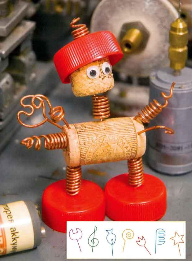 Робот для детского сада своими руками 76