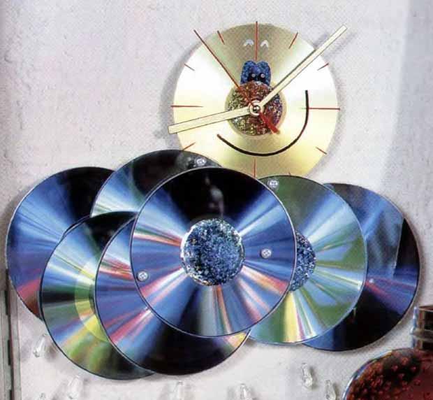 Поделки из старый дисков