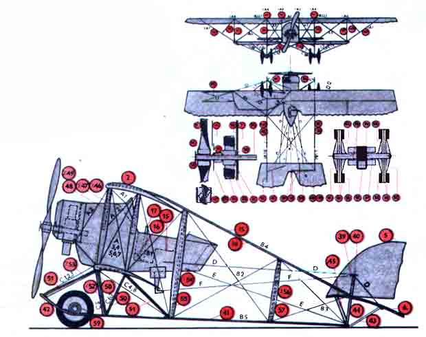 Музей на столе, самолёт G-111