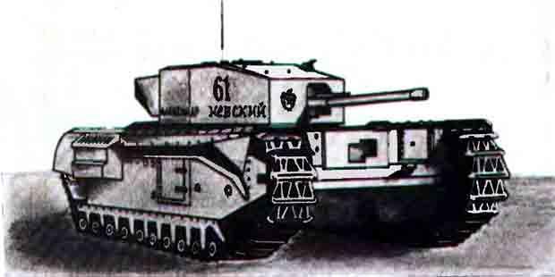 Танк «Шерман» М4а2, музей на столе