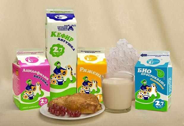 Кекс, снежок, кефир, молоко