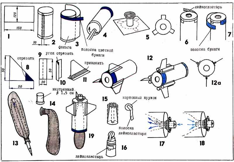 Модели ракеты своими руками