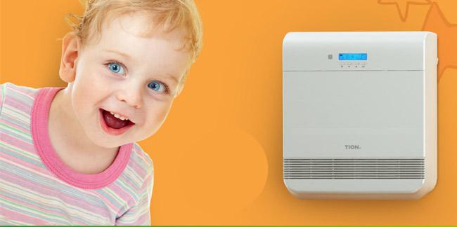 Компактная приточная вентиляция для детского сада