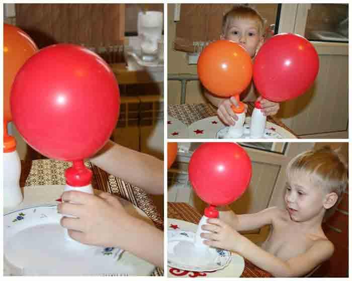 Могут ли дрожжи надуть воздушный шарик