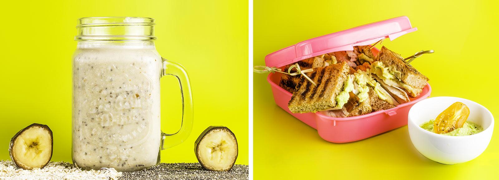 Завтраки в школу: 2 полезных рецепта