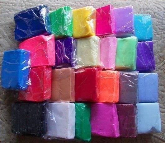 Как сделать полимерную глину в домашних условиях.