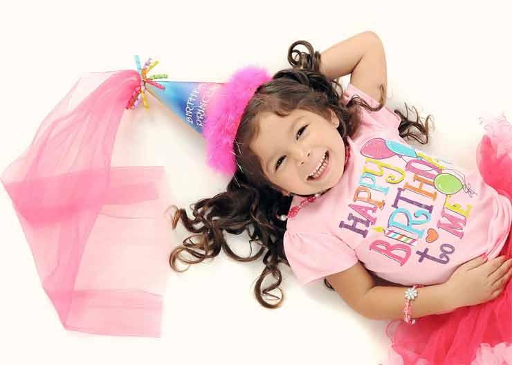 девочка, день рождения