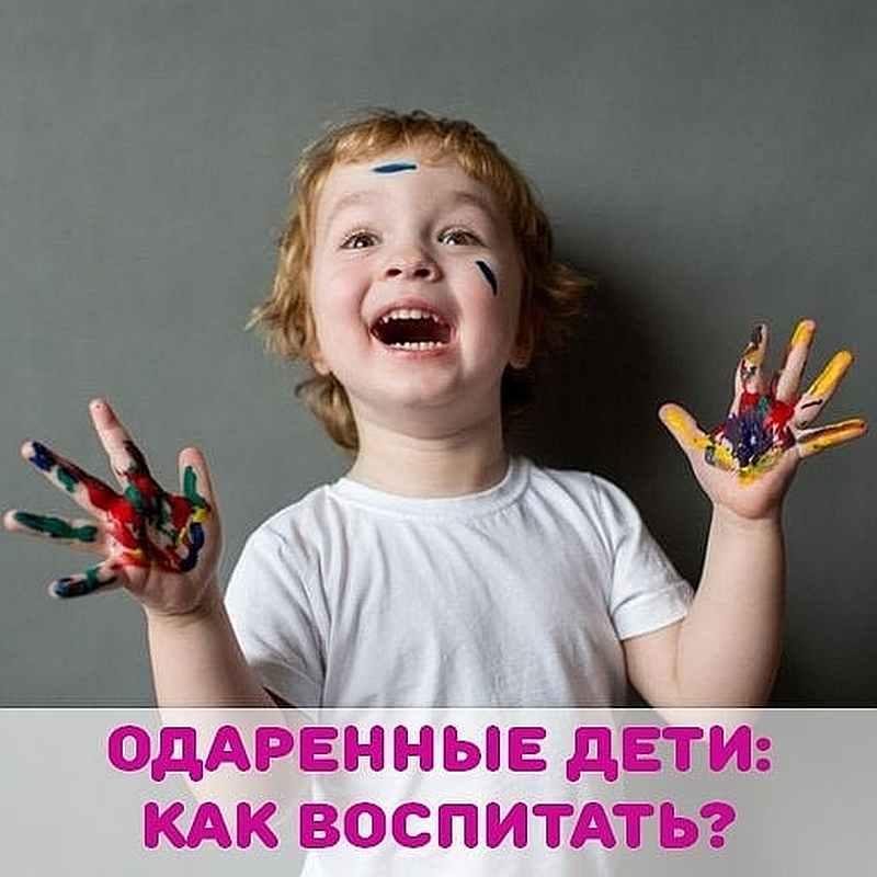 Одаренные дети: как воспитать