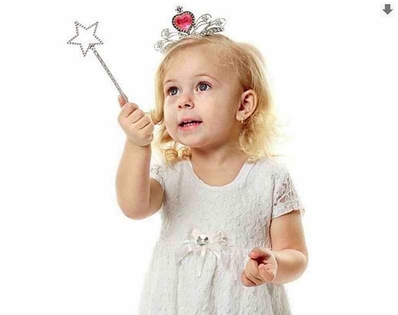 девочка, ребенок, волшебница