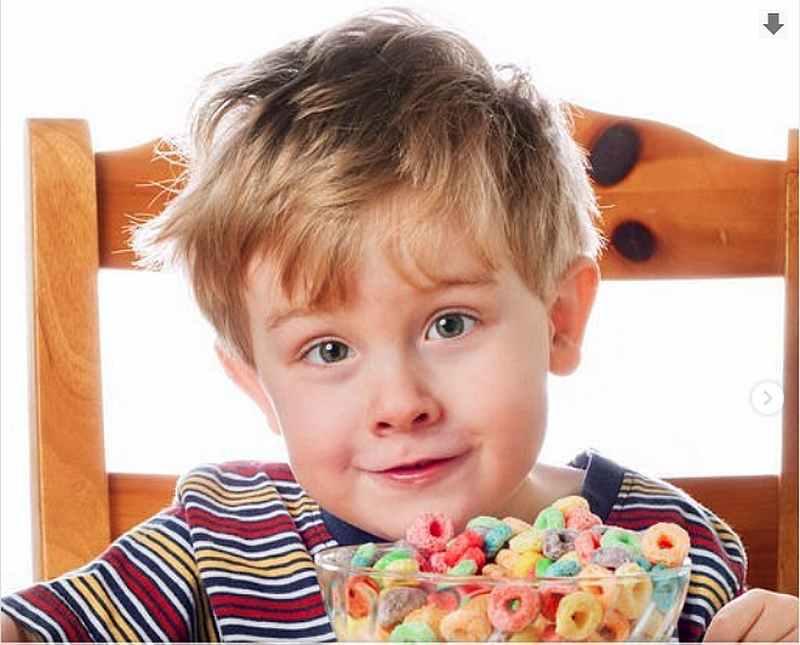завтрак мальчик