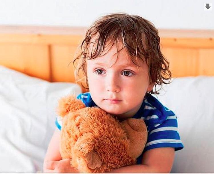 ребенок, мальчик, кашель, болезнь
