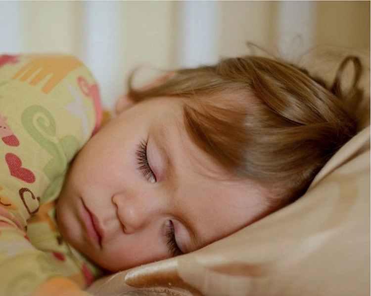 ребенок, девочка, спит
