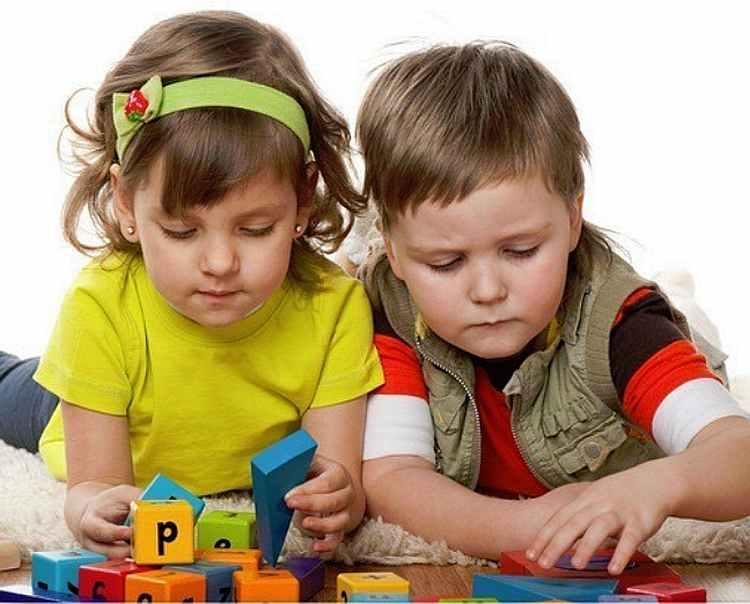 мальчик, девочка, математика, дошкольник